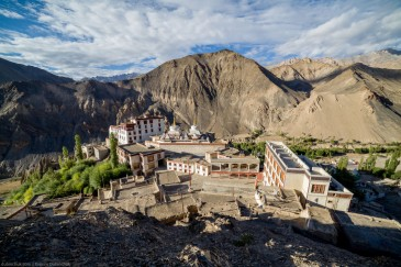 Lamayuru Gompa - monastery in Ladakh. North India