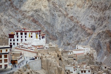Lamayuru monastery from above. Ladakh, India