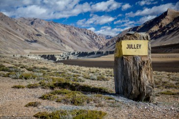 Indian Himalayas. Julley is hello in ladakhi