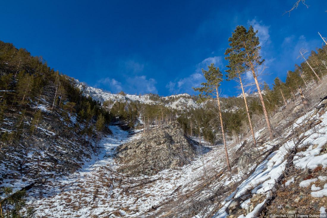 Подъем на гору Жима - высшую точку Ольхона