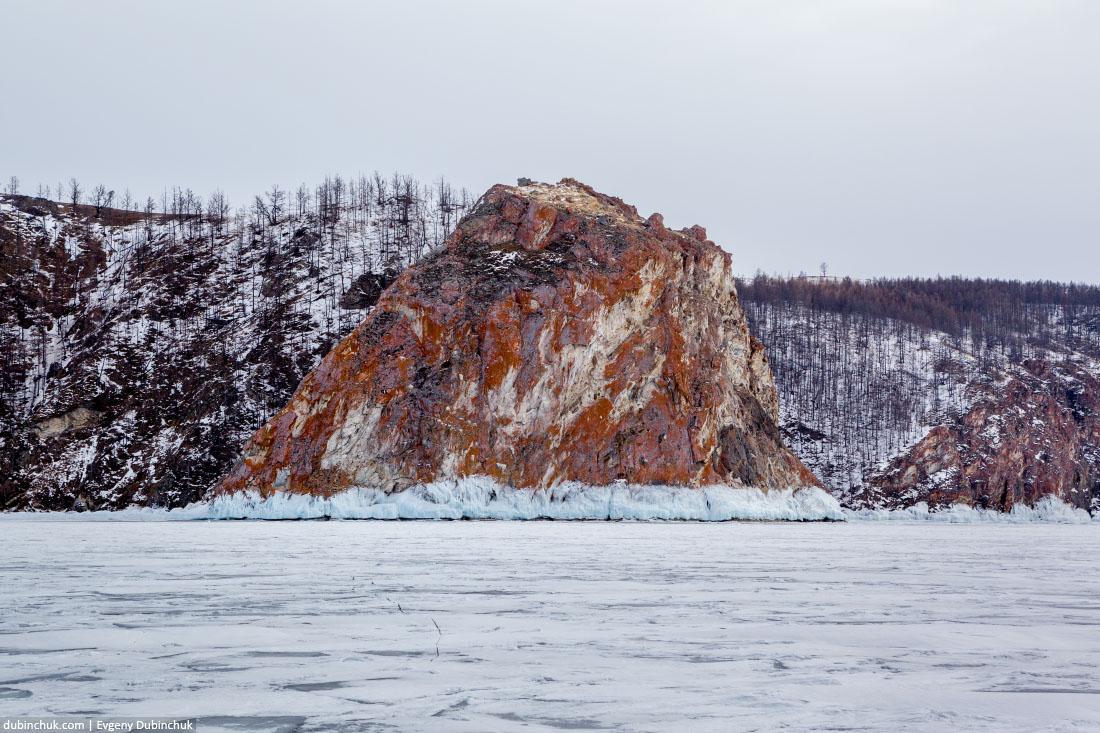 Мыс Дамнурий. Ольхон, Байкал. Olkhon island, Baikal