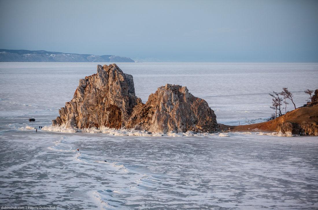Скала Шаманка. Хужир. Остров Ольхон, Байкал. Baikal lake