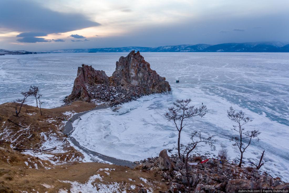 Мыс Бурхан, скала Шаманка. Хужир, Ольхон, Байкал. Baikal, Khuzhir