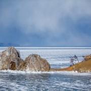 Поход по Байкалу на коньках вокруг Ольхона. Малое море. Часть 2