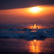 Магия рассветов и закатов на зимнем Байкале. Часть 7