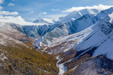 Altai mountains in autumn
